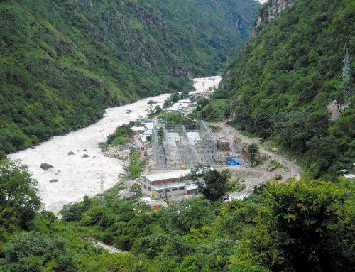 Umspannstation für Wasserkraftwerk in Bhutan