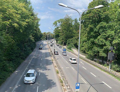 """6-streifiger Ausbau und """"Wiedervereinigung"""" des Englischen Gartens München"""