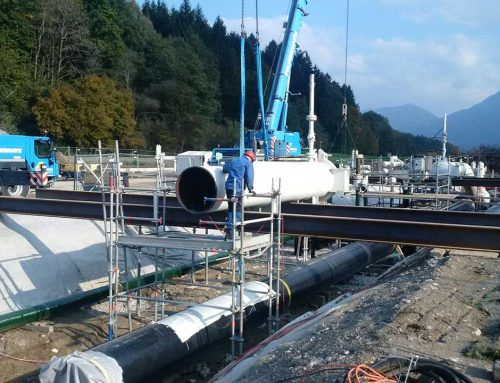 Rehabilitation of gate valve and pigging stations