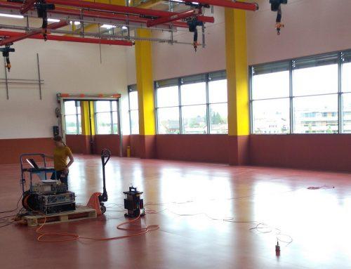 Dynamische und messtechnische Unterstützung des Industrieunternehmens Blum