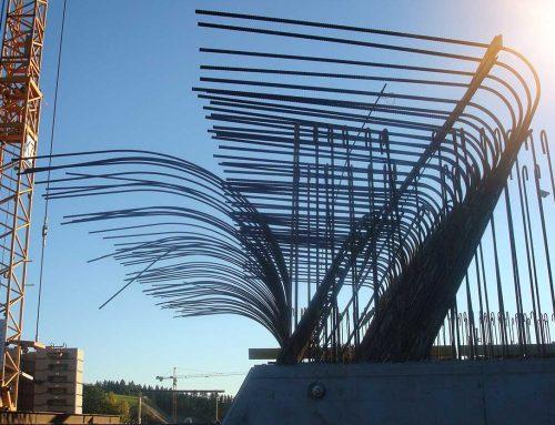 Frame corner reinforcement integral bridges