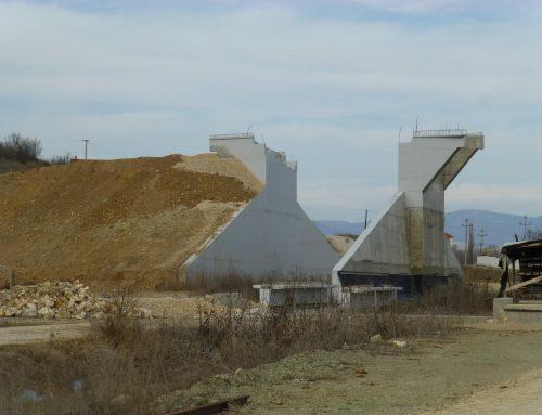 Beratertätigkeit für den Paneuropäischen Eisenbahnkorridors in Nordmazedonien