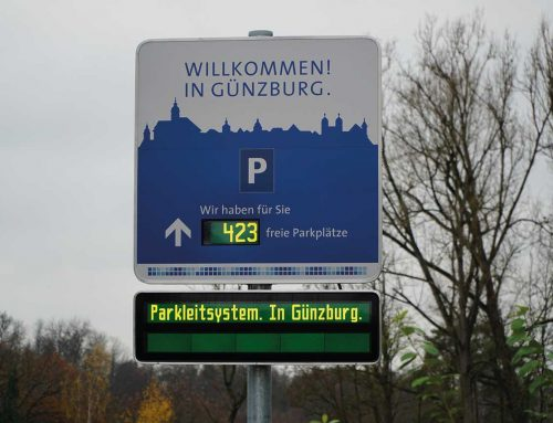 Dynamic parking guidance system City of Günzburg