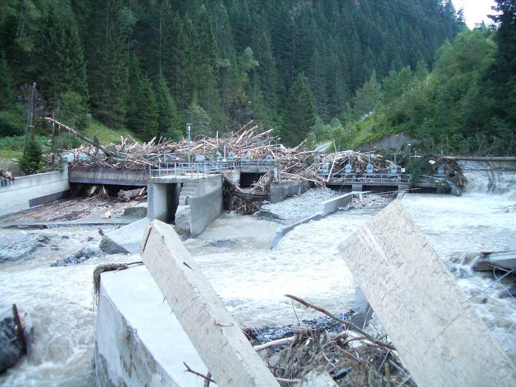 Wasserkraftwerk Wiesberg - Wiederaufbau und Modernisierung