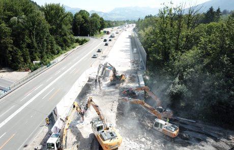 Overhaul of A12 Inntal motorway