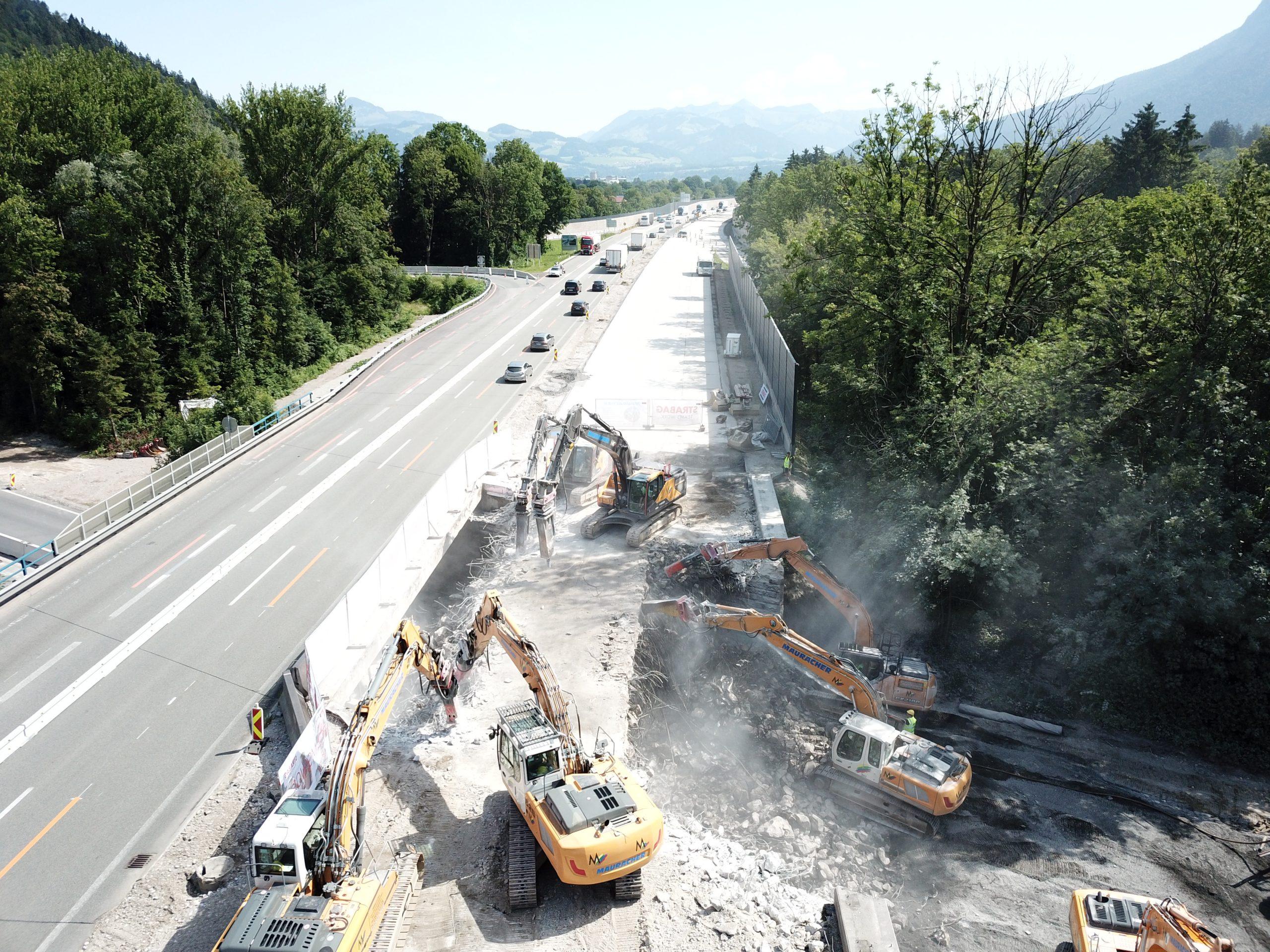 Instandsetzung A12 Inntal Autobahn