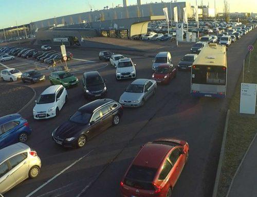 Schichtwechsel am BMW-Werk Leipzig mit Verkehrsuntersuchung optimieren