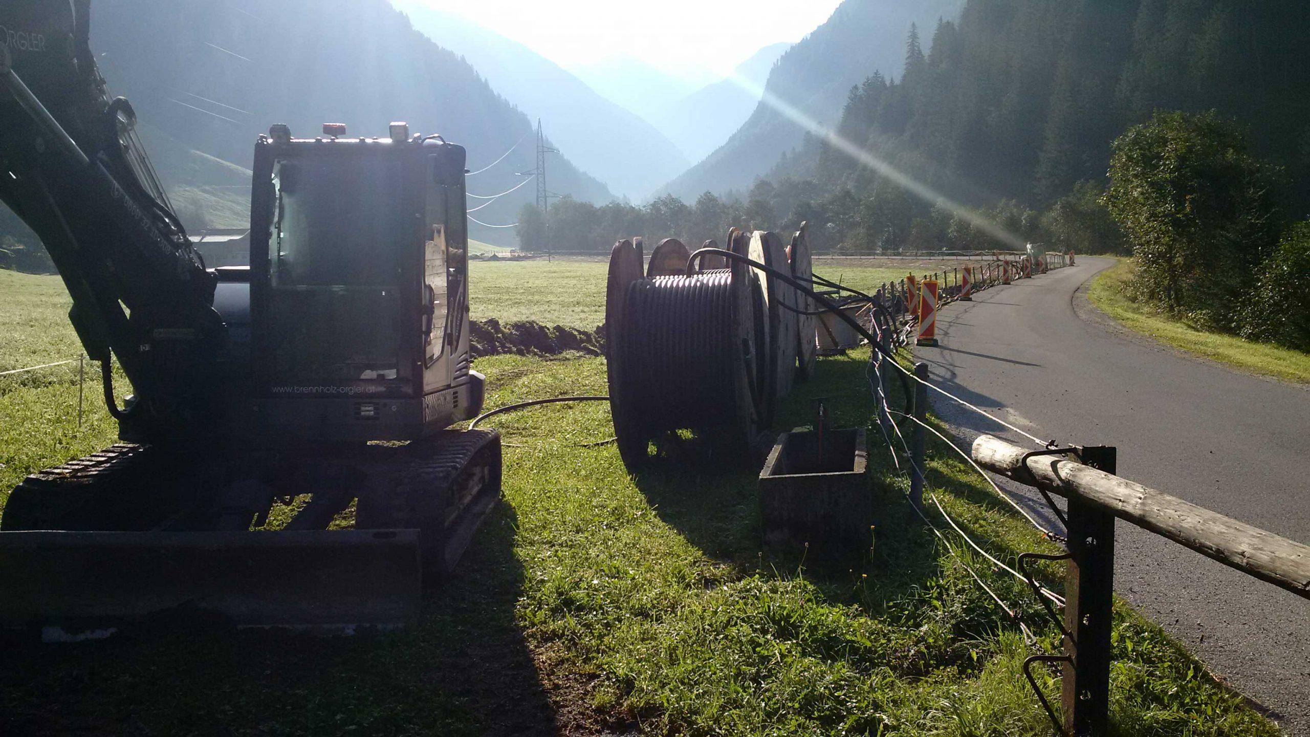 Kraftwerk Mayrhofen bis Kraftwerk Häusling - Erneuerung 25 kV Kabelverbindung