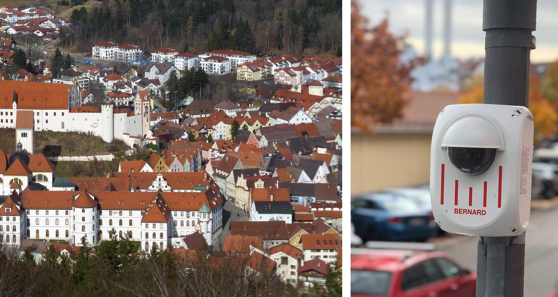Der Verkehrsablauf in Füssen und Schwangau ist geprägt von einem hohen Verkehrsaufkommen