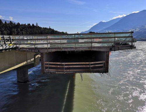Terfener Innbrücke früher als geplant für den Verkehr freigegeben