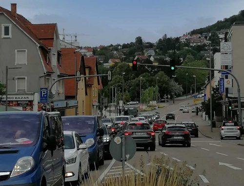 Umsetzung eines dynamischen Verkehrsmanagements in Leonberg