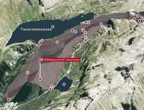 Der erste Meilenstein beim Pumpspeicherkraftwerk Tauernmoos ist erreicht