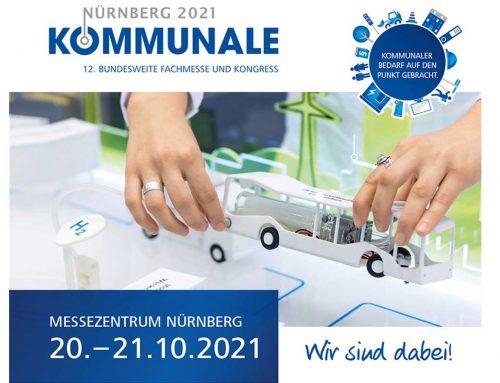 Die BERNARD Gruppe präsentiert sich auf der KOMMUNALE 2021 in Nürnberg